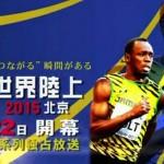 世界陸上2015北京の競技日程と放送スケジュール